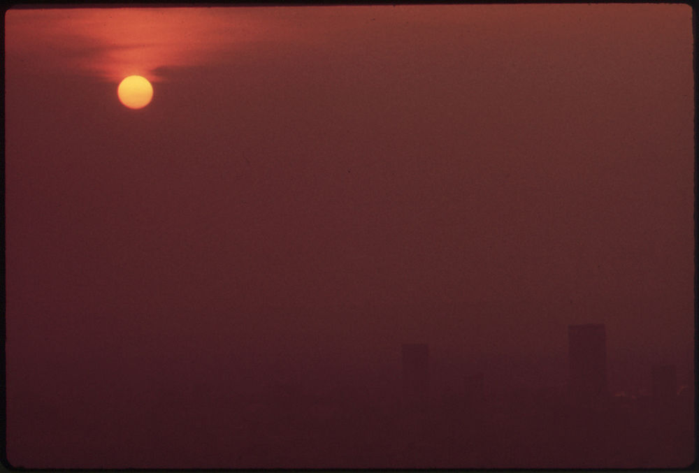 Smog over Louisville