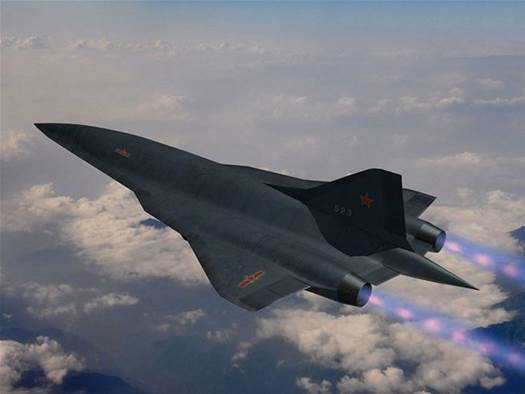 American and Chinese aircraft could be flying 6500 km/h by 2030
