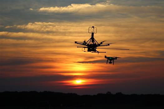 Drones will fly into the path of the eclipse to study weather