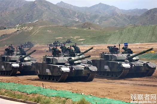 For sale: China's brand new, souped-up tanks