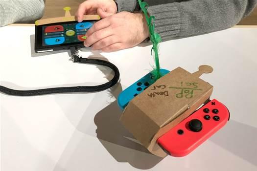 Nintendo's Labo cardboard STEM toys are a recycling bin full of fun