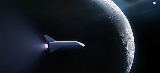 SpaceX wants to send private citizens to the moon (again)